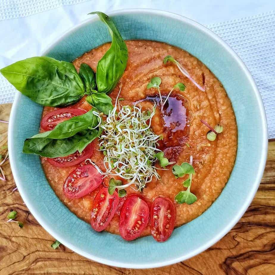 Bohnen Tomaten Suppe Rezept Sarah Tardy