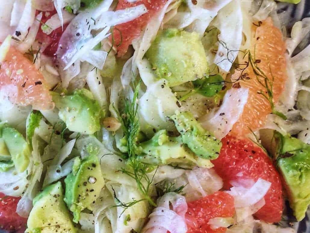 Fenchelsalat mit Grapfruit