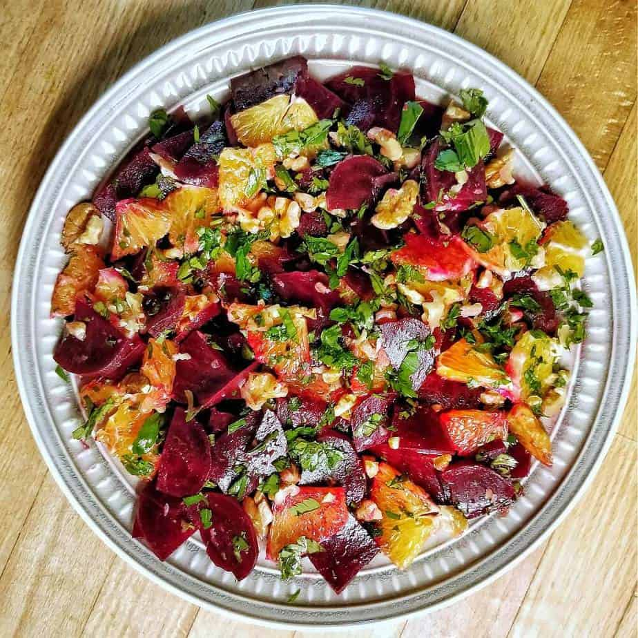 Rote Beete Orangensalat Rezept Sarah Tardy