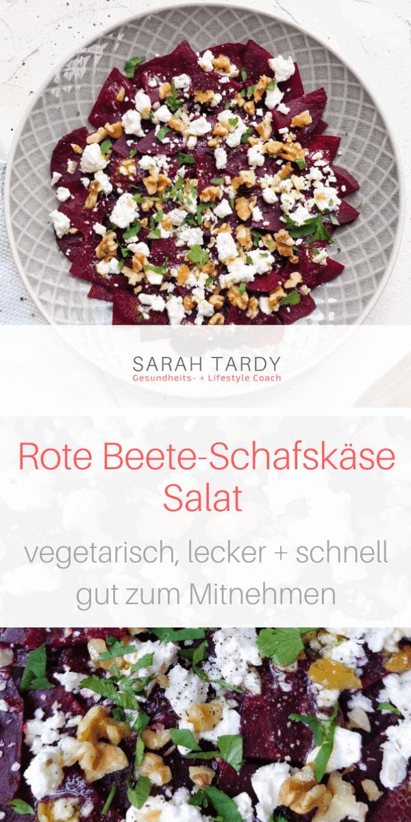 PIN Rote Beete Schafskäse Salat