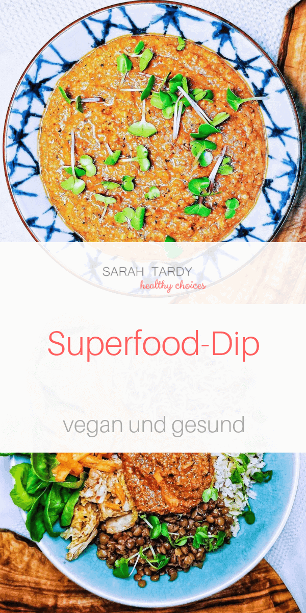 Superfood Dip Sarah Tardy