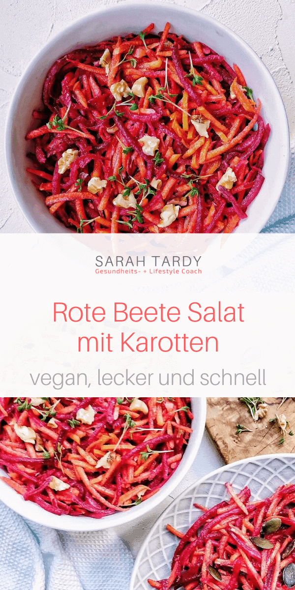 PIN Rote Beete Salat mit Karotten